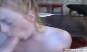 Blond MILF Gets Face Fucked