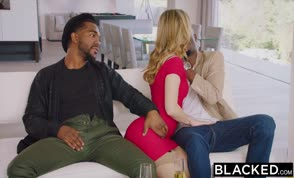 Two white girls with their black boyfriends |blacked
