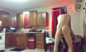 Rough sex with blonde wife