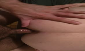 Anal fun with chubby wife