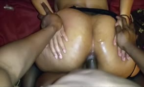 Chubby latina fucked in the ass
