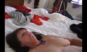 British slut gets a creampie