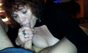 Blowjob from a mature woman